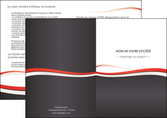 personnaliser modele de depliant 2 volets  4 pages  texture contexture structure MLGI45842