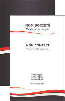 Impression carte de visite pro  Carte commerciale de fidélité devis d'imprimeur publicitaire professionnel Carte de visite - Portrait