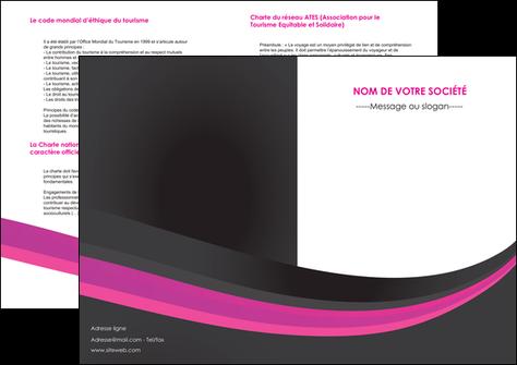 modele en ligne depliant 2 volets  4 pages  standard texture structure MLGI45886