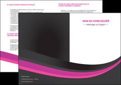 modele en ligne depliant 2 volets  4 pages  standard texture structure MLIG45886