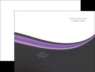 imprimerie pochette a rabat standard texture abstrait MLIG46020