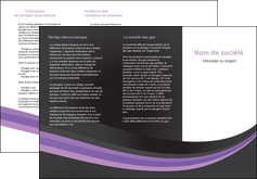 Impression depliant dvd  depliant-dvd Dépliant 6 pages pli accordéon DL - Portrait (10x21cm lorsque fermé)