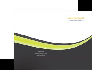 faire modele a imprimer pochette a rabat standard texture abstrait MIF46066