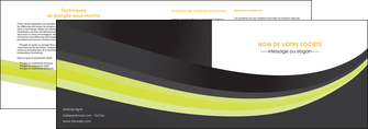 modele depliant 2 volets  4 pages  standard texture abstrait MIF46068