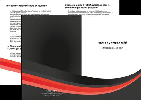 maquette en ligne a personnaliser depliant 2 volets  4 pages  standard texture abstrait MLGI46182