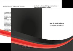 creer modele en ligne depliant 2 volets  4 pages  standard texture abstrait MLGI46186