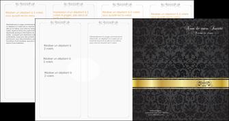 personnaliser maquette depliant 4 volets  8 pages  standard texture abstrait MLGI46450
