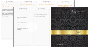 personnaliser maquette depliant 4 volets  8 pages  standard texture abstrait MLIG46450