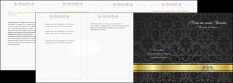 faire depliant 4 volets  8 pages  standard texture abstrait MLGI46452
