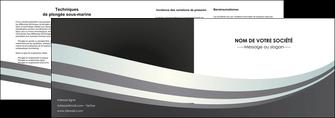 maquette en ligne a personnaliser depliant 2 volets  4 pages  standard texture abstrait MIF46496