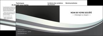 imprimer depliant 2 volets  4 pages  standard texture abstrait MLGI46498