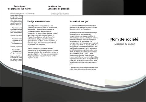imprimer depliant 3 volets  6 pages  standard texture abstrait MLGI46512