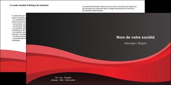 imprimerie depliant 2 volets  4 pages  standard texture contexture MIF46530