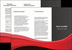 personnaliser modele de depliant 3 volets  6 pages  standard texture contexture MLGI46558