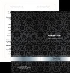 exemple depliant 2 volets  4 pages  standard texture abstrait MLGI46654
