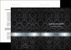 creer modele en ligne depliant 2 volets  4 pages  standard texture abstrait MLIG46666