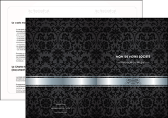 creer modele en ligne depliant 2 volets  4 pages  standard texture abstrait MIF46666