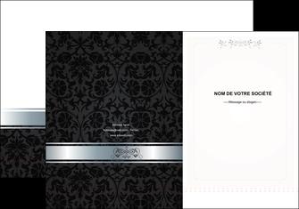 faire modele a imprimer pochette a rabat standard texture abstrait MIF46676