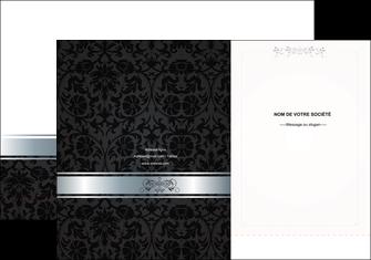 imprimerie pochette a rabat standard texture abstrait MIF46694