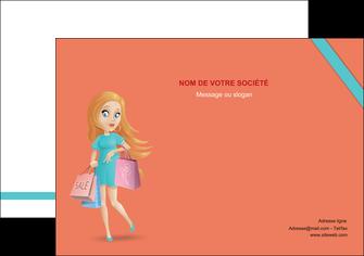 creer modele en ligne affiche vetements et accessoires shopping magasin fille MLIG46716