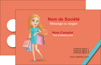 modele en ligne carte de visite vetements et accessoires shopping magasin fille MLIG46730