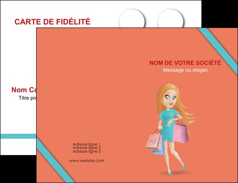 Faire Modele A Imprimer Carte De Visite Vetements Et Accessoires Shopping Magasin Fille MLGI46732