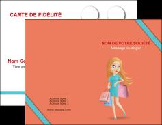 faire modele a imprimer carte de visite vetements et accessoires shopping magasin fille MLIG46732