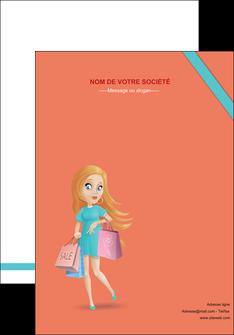 modele affiche vetements et accessoires shopping magasin fille MLIG46736