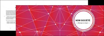 creer modele en ligne depliant 2 volets  4 pages  standard abstrait fond MLGI46776