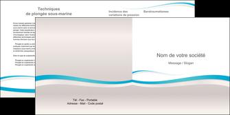 personnaliser maquette depliant 2 volets  4 pages  standard texture contexture MLIG46802