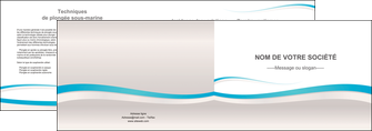 creer modele en ligne depliant 2 volets  4 pages  standard texture contexture MLIG46824