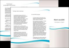 creer modele en ligne depliant 3 volets  6 pages  standard texture contexture MLIG46838