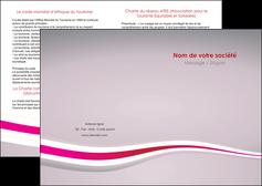 creation graphique en ligne depliant 2 volets  4 pages  standard texture contexture MLGI46886