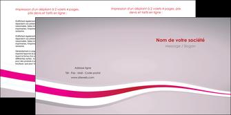 cree depliant 2 volets  4 pages  standard texture contexture MLGI46898