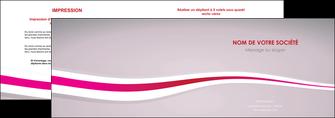 faire depliant 2 volets  4 pages  standard texture contexture MLGI46910