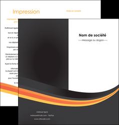 personnaliser maquette depliant 2 volets  4 pages  standard texture contexture MLIP46980