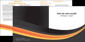 creation graphique en ligne depliant 2 volets  4 pages  standard texture contexture MLGI46986