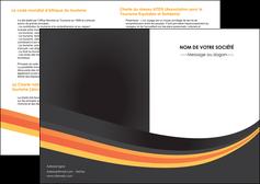 creer modele en ligne depliant 2 volets  4 pages  standard texture contexture MIS46992