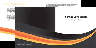 modele en ligne depliant 2 volets  4 pages  standard texture contexture MLIP46996