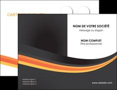 personnaliser maquette carte de visite standard texture contexture MLIP46998