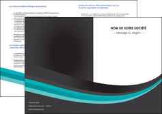 imprimer depliant 2 volets  4 pages  standard texture contexture MLIGBE47040