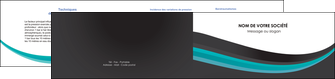 exemple depliant 2 volets  4 pages  standard texture contexture MIF47052