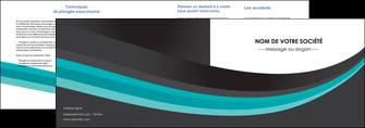 modele en ligne depliant 2 volets  4 pages  standard texture contexture MIF47054
