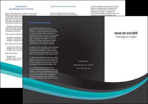 creer modele en ligne depliant 3 volets  6 pages  standard texture contexture MLGI47068