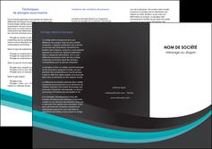 creer modele en ligne depliant 3 volets  6 pages  standard texture contexture MIF47068