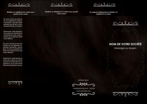 maquette en ligne a personnaliser depliant 3 volets  6 pages  texture contexture structure MLGI47086