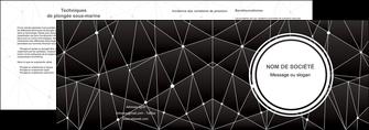 creer modele en ligne depliant 2 volets  4 pages  standard texture contexture MLIG47148