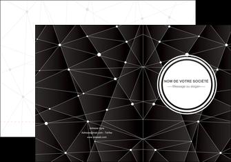 realiser pochette a rabat standard texture contexture MLIG47162