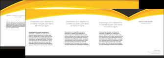 faire modele a imprimer depliant 4 volets  8 pages  standard texture contexture MLGI47266
