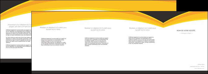 personnaliser modele de depliant 4 volets  8 pages  standard texture contexture MLGI47268